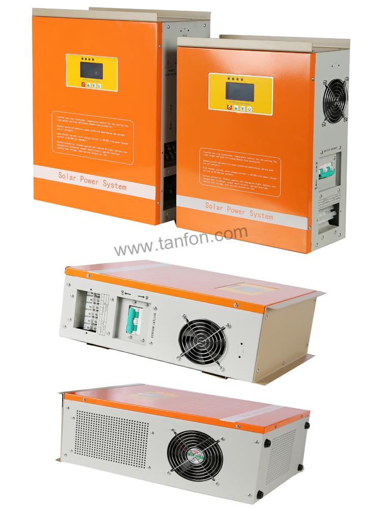 48v 3000w 5000w Solar Inverter Charger Solar Panel Battery