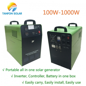protable solar generator for home