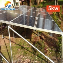 On and off grid solar system 5 kw with battery storage