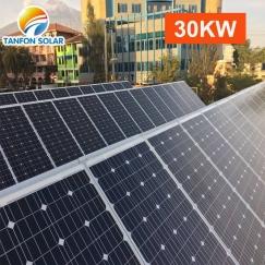 Best price off grid three phase 30 kw solar power system 30kw 3phase