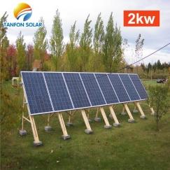 3kw wind turbine and 2kw solar panel off grid hybrid power 5kw system