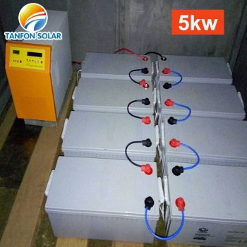 5kw solar inverter battery system