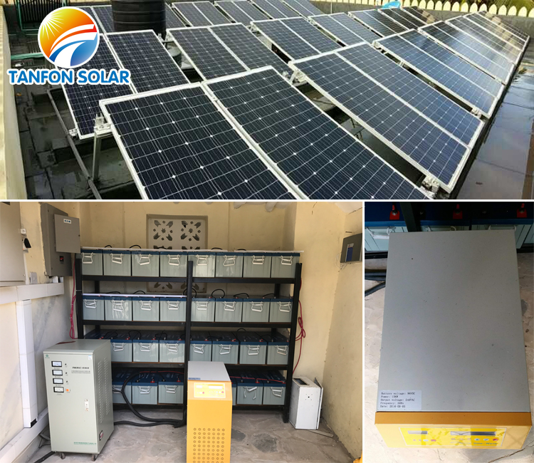 10 kw solar power system for resort use in Kenya