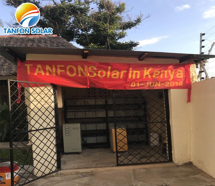 10kw solar energy system  Tanfon best service in Kenya