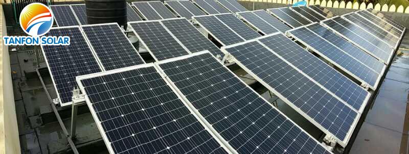 mono solar panel 200 watts 40 pieces for 10kw inverter solar system