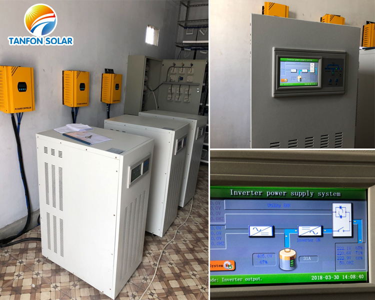 Three Phase output solar inverter 20kw