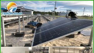 Tanfon Airport Projects 60kw Solar System in Indonesia