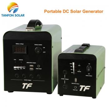 Portable DC solar system
