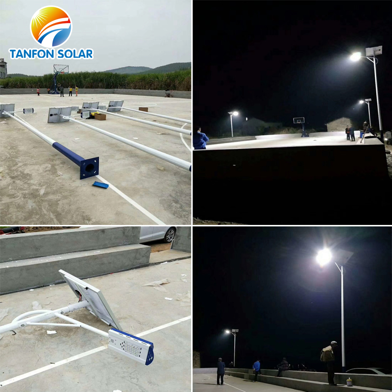 solar street light system project