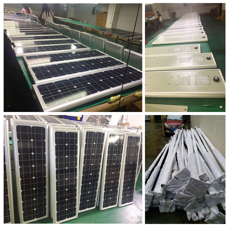 solar led light system factory