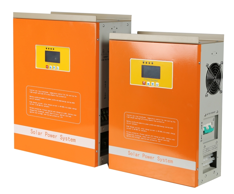 solar inverter off grid power with controller built-in