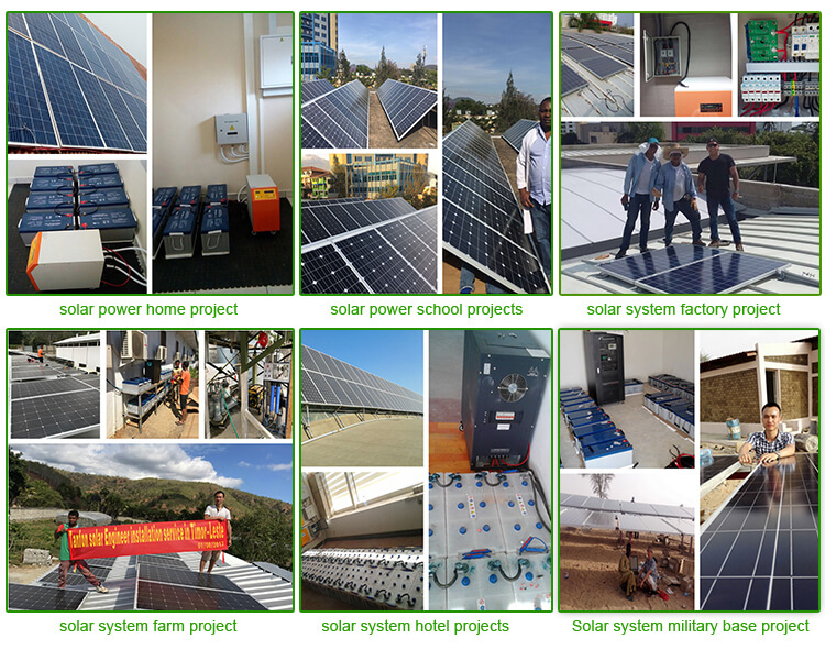 solar panel system projects
