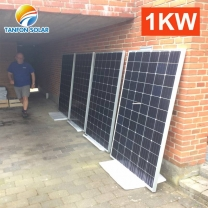 1kw solar panels 1000 watts off grid power system for home