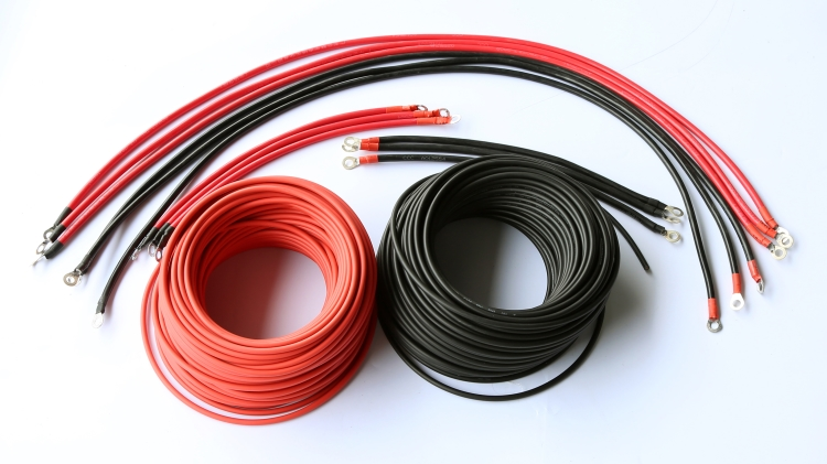solar cables with MC4 connector