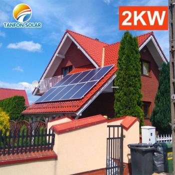 2 kw solar energy system