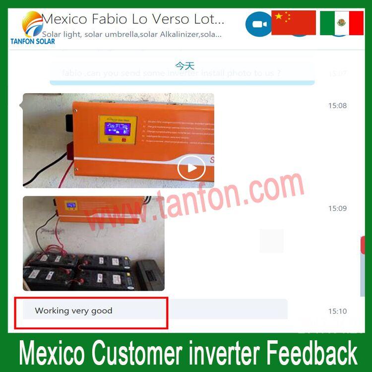 2 output voltage inverter feedback