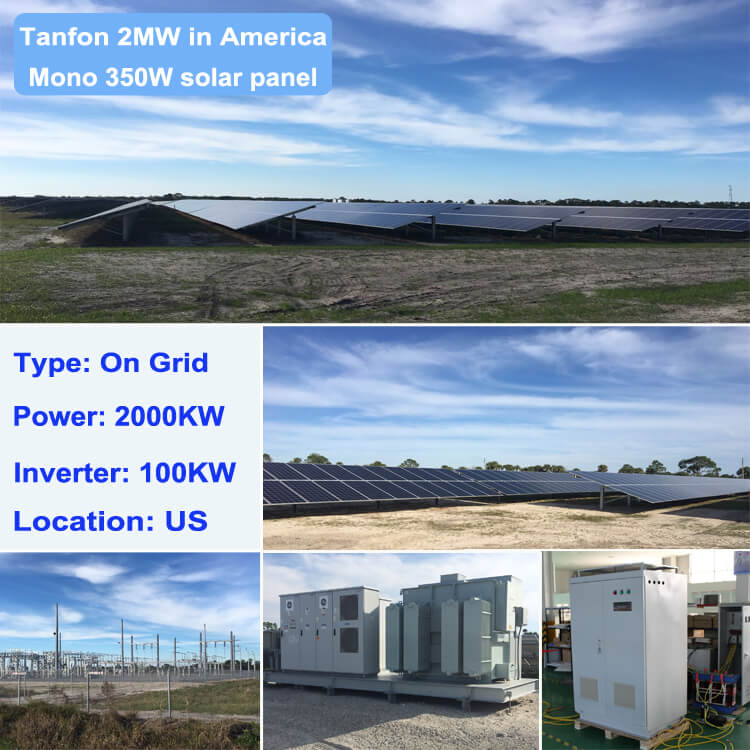 on grid inverter solar system