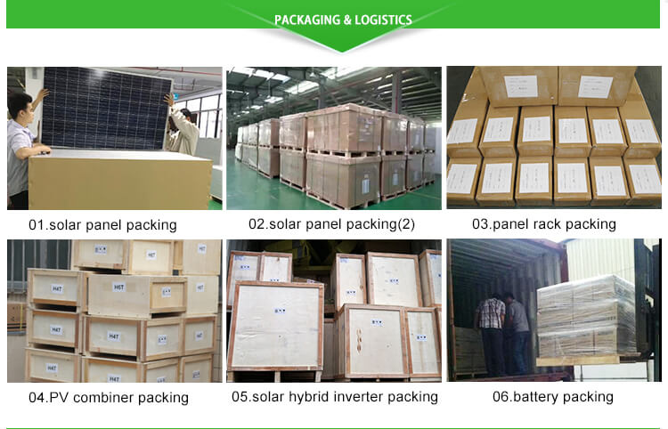 250 watt monocrystalline solar panel package