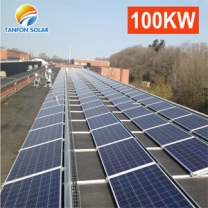Industrial power solution off grid solar system 100kw complete kit