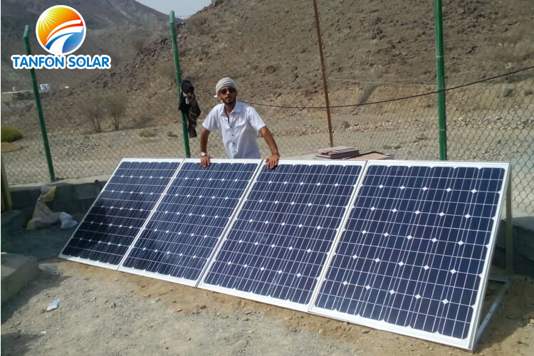 1000 watts solar panel system