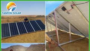 Tanfon 3kw off grid solar system home used in Dubai