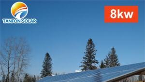home off grid solar panels system 8kwp 8kw complete set