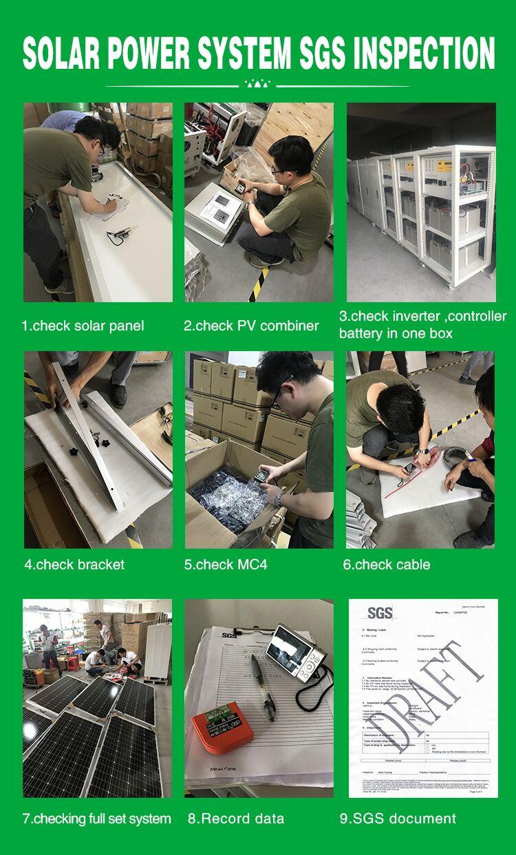 solar power system inspection