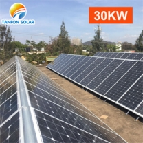 solar panels 30kw system generator 3 phase solar array system