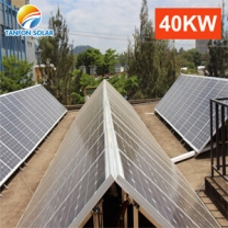 Industrial solar energy system 40kw power commercail