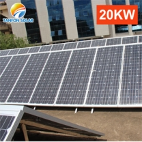 20KW solar power generator home solar panel kit power systems