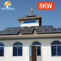 solar power 5000w generator 3phase photovoltaic solar panels system