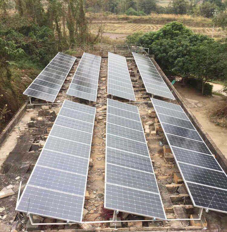 20kw solar panel mount