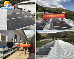 Solar Panel Power system for farm