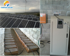 solar power system for small motel