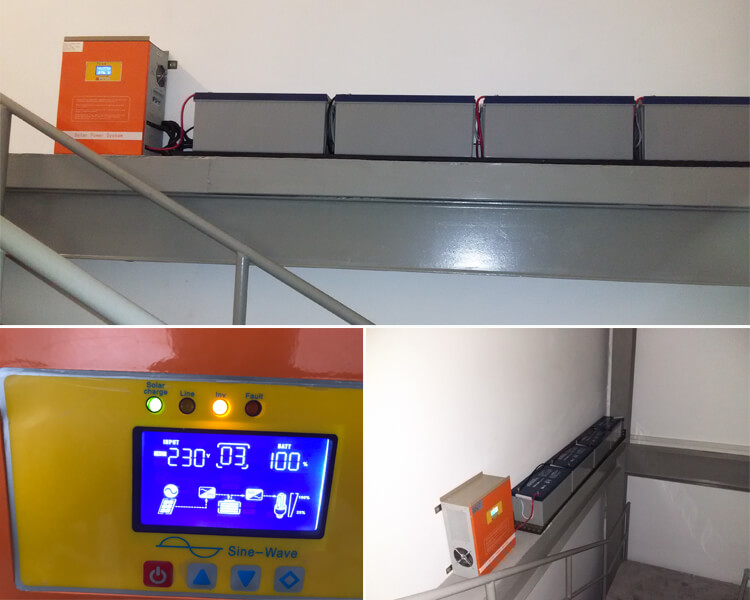 3kw solar inverter with battery