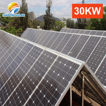 30kw solar power system