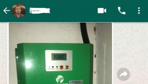 80A 96V Solar controller feedback from Polynesia customer