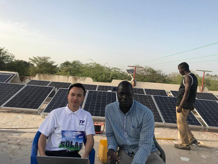 5000 watts solar panel