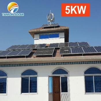 solar power system 5000w