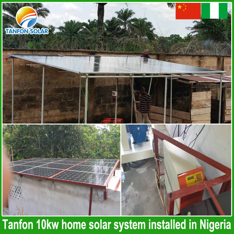 10kw solar home power system in Nigeria