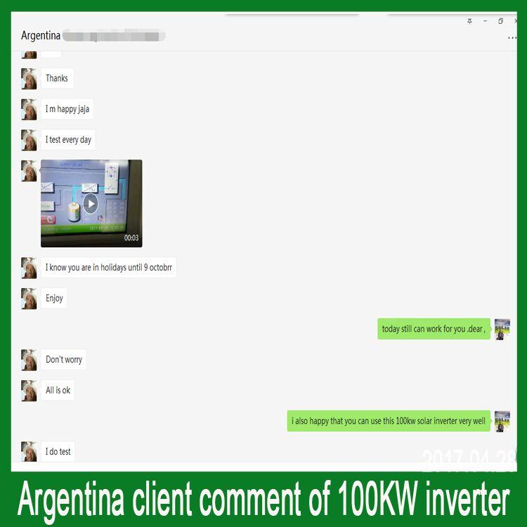 100kw solar inverter