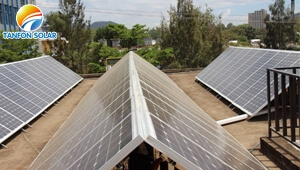 How is TANFON solar power system to save customer electricity Bill in Tanzania