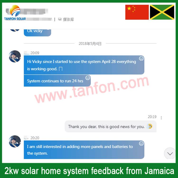 2kw solar panel system