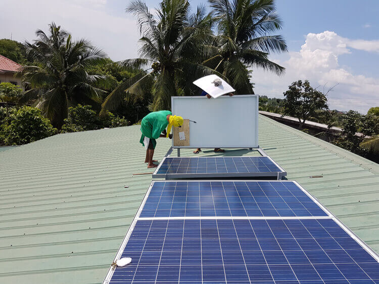 solar energy system in Philippines