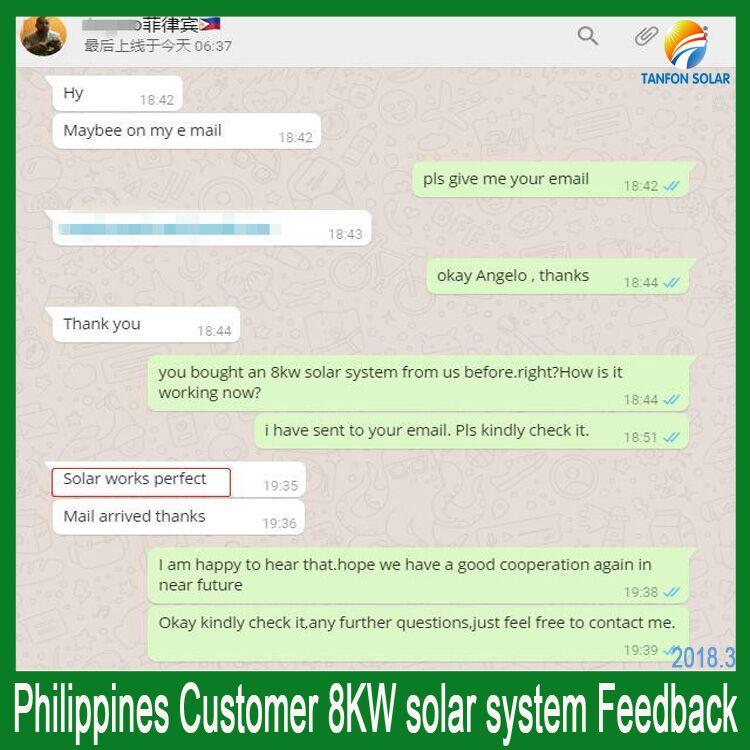8kw solar power system
