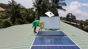 How is 8kw inverter solar power system working in Philippines?