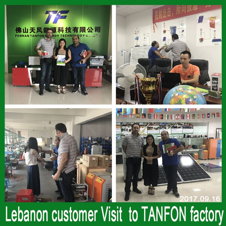 customer visit inverter factory