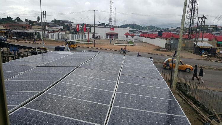 15000 watts solar panel mounting