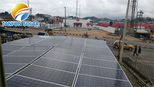 Tanfon 15kw off grid solar system in Nigeria