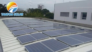Tanfon 50kw on grid solar system in Colombia